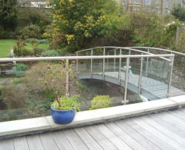 Garden Bridge Balcony