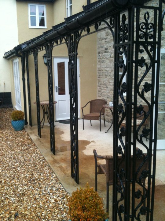 Wrought Iron Verandas And Porches