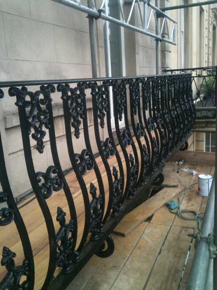Wrought Iron Balustrades And Other Decorative Features For