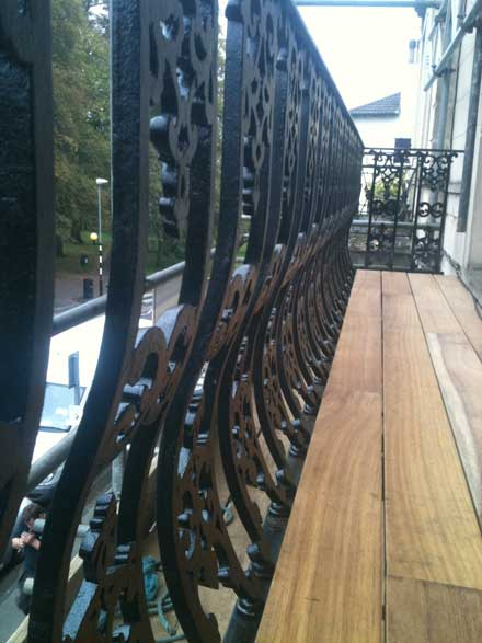 wrought iron balusters