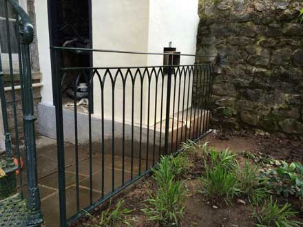 aesthetic appeal wrought iron spindles